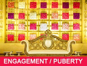 Puberty or Engagement Decorators in Pondicherry - Stage Decorations