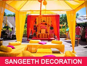 Sangeet Decorators in Pondicherry - Stage Decorations