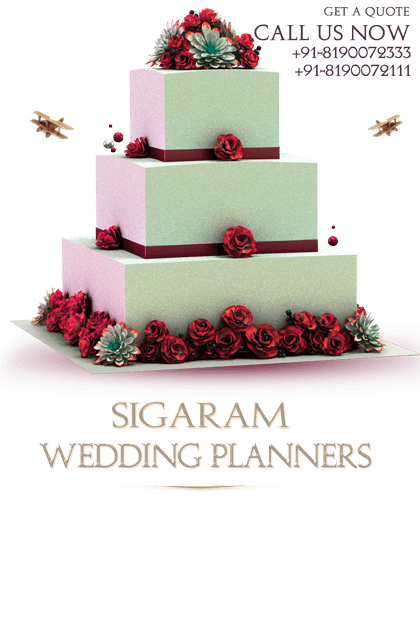 Wedding Cakes, Wedding Decorators and Wedding Organisers - Wedding Celebrations